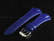 Authentic TechnoMarine 1903 Periwinkle Blue Leather Strap W/ Buckle 22 mm