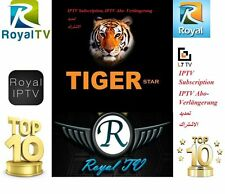 Royal IPTV Subscription Abo Arab IPTV Tiger Receiver 1Jahr  IPTV Android رويال