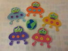 FELT BOARD/FLANNEL STORY TEACHER RESOURCE -5 FIVE LITTLE MEN IN A FLYING SAUCER