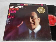 VIC DAMONE Closer Thank a Kiss '59 COLUMBIA ORIG STEREO JAZZ VOCAL LP NICE