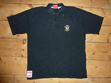 SOUTHAMPTON football Shirt XL Black Polo Soccer Jersey SOTON MAGLIA