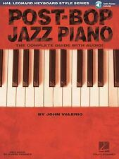 Post-Bop Jazz Piano - The Complete Guide with Online Audio!: Hal Leonard Keyboa