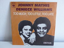 JOHNNY MATHIS DENIECE WILLIAMS Too much too little too late 6164