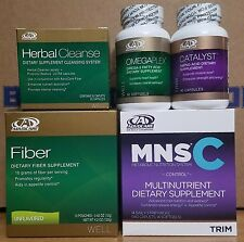 Advocare Herbal Cleanse MNS Catalyst Omegaplex (from 24 Day Challenge Products)