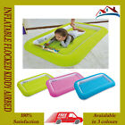 KIDS CHILDRENS INFLATABLE SAFETY FLOCKED KIDDY AIR BED TODDLERS CAMPING AIR BEDS