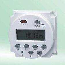 Digital LCD Power Programmable Control Timer Switch Time Relay AC 220V-240V 16A