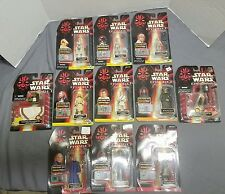 Star Wars Episode I Action Figure and Accessory Sets lot of 11