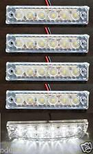 5 pcs 24V SMD LED WHITE FRONT SIDE MARKER LIGHTS FOR DAF MAN VOLVO IVECO SCANIA