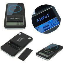AMPUT 0.01g x 200g Digital Jewelry Weight Electronic Pocket Scale Touch Screen