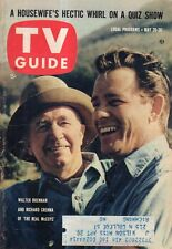 1961 TV Guide May 20 - Walt Disney Part II; The Real McCoys;Andy Williams;Foster
