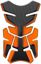 PAD PROTECTION TANK ORANGE CARBON HONDA CBR 600 900 100 500 HORNET CB