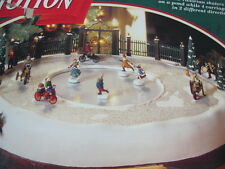 MR CHRISTMAS HOLIDAY IN MOTION ANIMATED 50 SONGS  VICTORIAN SKATERS & CARRIAGES