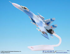 Flight Miniatures Russian AF Blue Camouflage Sukhoi SU-27 1:72 Scale Mint in Box