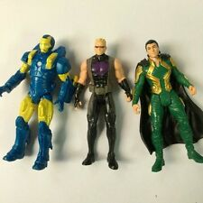 3x Heroes Hawkeye,LOKI MINT ON CARD,Iron man Marvel AVENGERS AGE OF ULTRON HA174