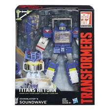 DHL Transformers Generations Titans Return Leader Soundwave Soundblaster NEW