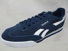 REEBOK RAYEN SUEDE MENS TRAINERS NAVY/WHITE/GREY BRAND NEW SIZE UK 7 (AQ4)