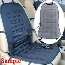 12V Car Van Front Seat Hot Heater Heated Pad Cushion Winter Warmer Cover Grey