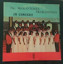MEN-O-TONES TREBLETONES In Concert LP black gospel