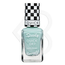 Barry M Speedy Quick Fast Dry Nail Paint - Road Rage SDNP3 Mint Green Polish