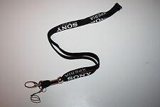 Sony Xperia Schlüsselband / Lanyard / Keyholder NEU!! Farbe Schwarz