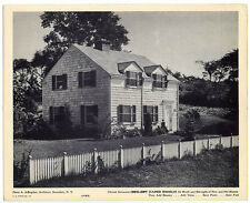 5 large pics Scarsdale, NY homes 1940 ads for shingles