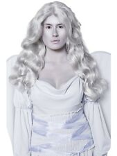 Cemetery Angel Wig Grey - Halloween Grey Wig - Ladies Fancy Dress