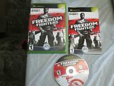 Freedom Fighters (Microsoft Xbox, 2003) complete