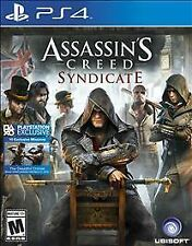 Assassin's Creed Syndicate PS4 Playstation 4 video game