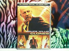 DVD d'occasion en très bon état : CLONES ... Film d'action avec Bruce Willis