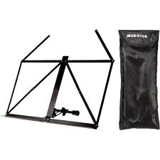Stagg table top top music stand with bag MUS-A1BK