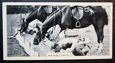Royal Ulster Rifles  on Manoeuvres   Original Vintage Photo Card  # VGC