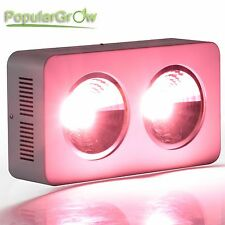 PopularGrow 400W COB  Integrated LED Grow Light  Full Spectrum For Plant  Veg