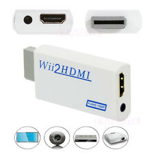Wii Full HD To HDMI 1080P Upscaling Converter Adapter With 3.5 mm Audio Output