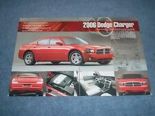 "2006 Dodge Charger New Car Info Article ...""Next Rear-Wheel-Drive Modern Muscle"