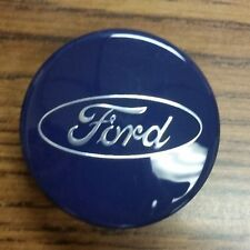 Ford Focus Fiesta Fusion C-Max Edge Escape   Wheel Center Cap Blue  6M21-1003-AA