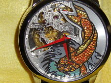 Invicta Men's 5167, coy fish  mechanical swiss made aprox. 43 m.m.w. case