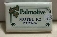 SAPONETTA MOTEL K2 PIACENZA -PALMOLIVE g.15 RETTANGOLARE - INCARTATA - - N. 49