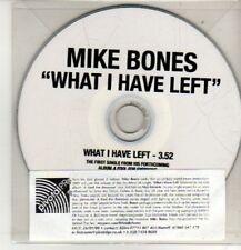 (CM816) Mike Bones, What I Have Left - 2009 DJ CD
