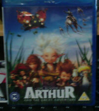 Arthur and the Great Adventure  Blu-ray  new sealed