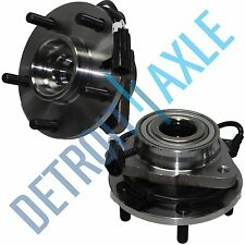 Pair (2) NEW Front Driver and Passenger Wheel Hub & Bearing Assembly Set ABS 2WD