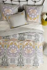 NEW Anthropologie Safia Embroidered Duvet Cover  Queen Size