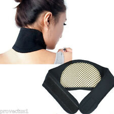 Breathable Self Heating Neck Wrap Heat Brace Support Strap Pain Ache Relief Coll