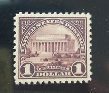 571, $1 Lincoln Memorial, Centering Gem 100 !!  Mint/MNH See description!