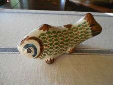 Mexican Tonala Pottery Fish Snake Mark