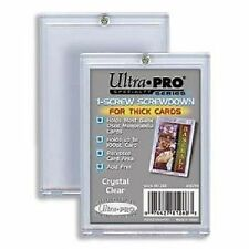 (20) Ultra Pro 1-Screw Extra Thick Screwdown Card Holders 100pt Jersey Patch