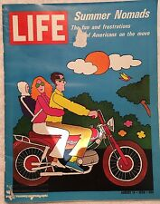 LIFE MAGAZINE Aug 14 1970 * Demolition in Manhattan * Houseboats * Trains Abroad