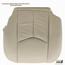 2005 Cadillac Escalade EXT Platinum Edition Driver Bottom Leather Seat Cover Tan