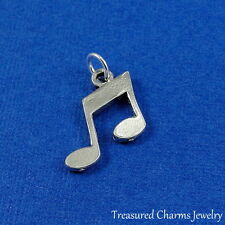 Silver MUSIC NOTE CHARM Musical Symbol PENDANT