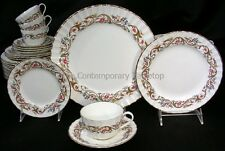 Royal Worcester BOURNEMOUTH Luxury Bone China Dinnerware Set /12 (59 pc!)