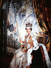 "Queen Elizabeth II Portrait   13 x 19"" Photo"